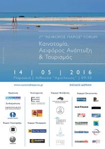 Sustainable Paros 2016 Poster