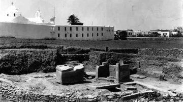 Τμήμα του επίσημου νεκροταφείου της Αρχαίας πόλης