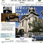 Piano recital in support of Paros children