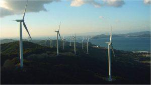 Paros wind turbines