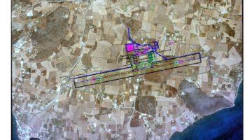 Το νέο αεροδρόμιο σε αεροφωτογραφία