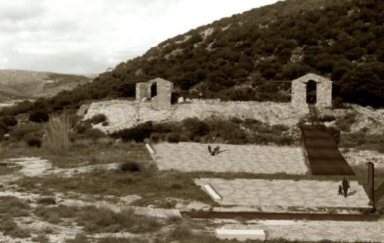 Sentiers dans les carrières de Paros, de Marousso Marinopoulou