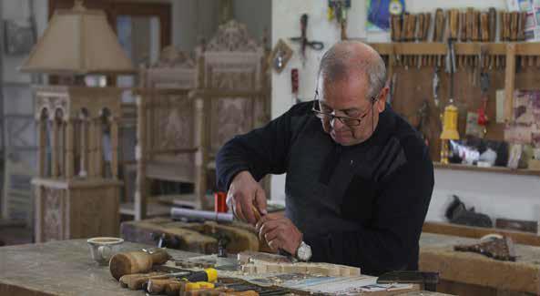Όταν το ξύλο γίνεται τέχνη από τα χέρια του Αντώνη