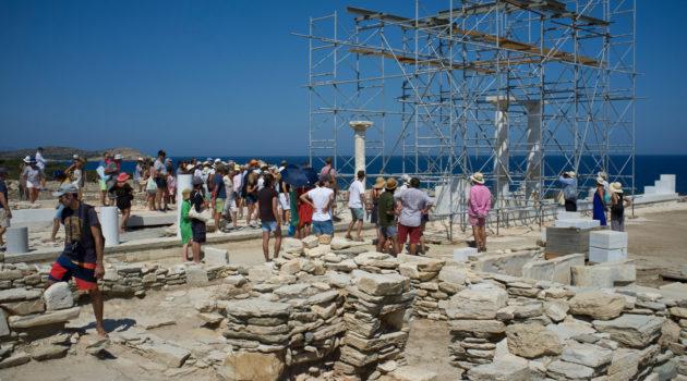 Les Amis de Paros s'engagent à mieux faire connaître le passé antique de Paros