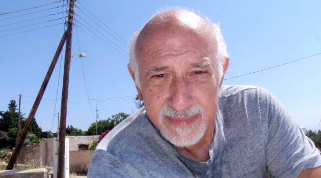 The artful diver, Peter Nicolaides, passed away on October 2