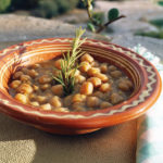 "Roasted chickpeas in a ""skountavlo"", made with love and care"