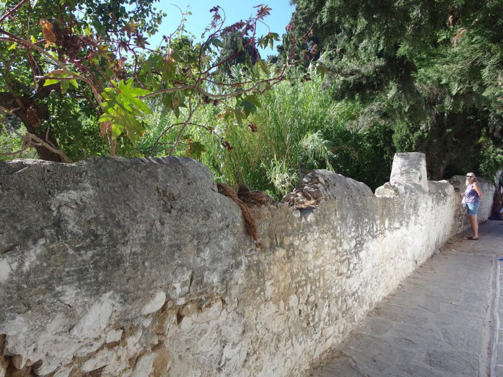 Abandoned olive oil press in Parikia Paros