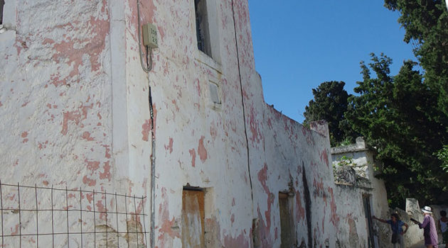 The former pink house Parikia Paros