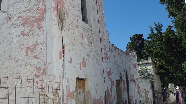 The former pink house Parikia Paros