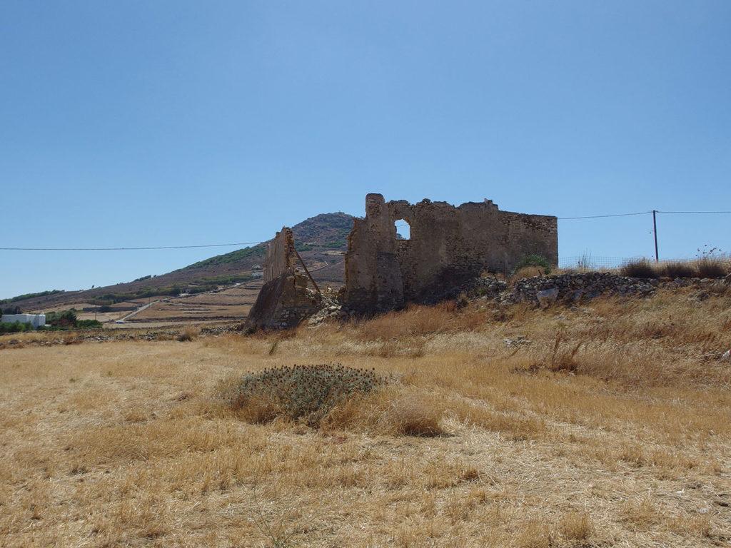 Monastery and church of Pantokrator near Marmara Paros