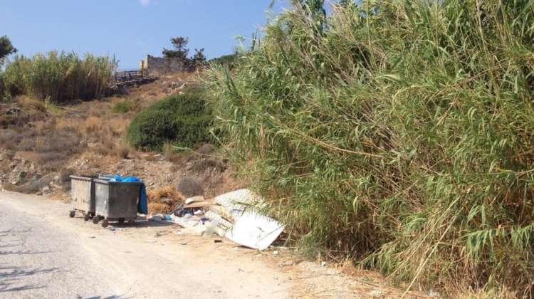 waste management on paros