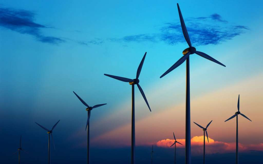 wind turbines paros