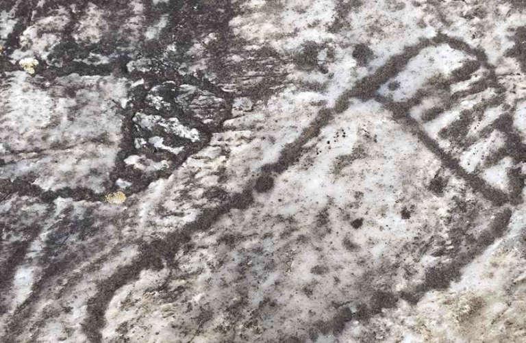 Marapas foot prints
