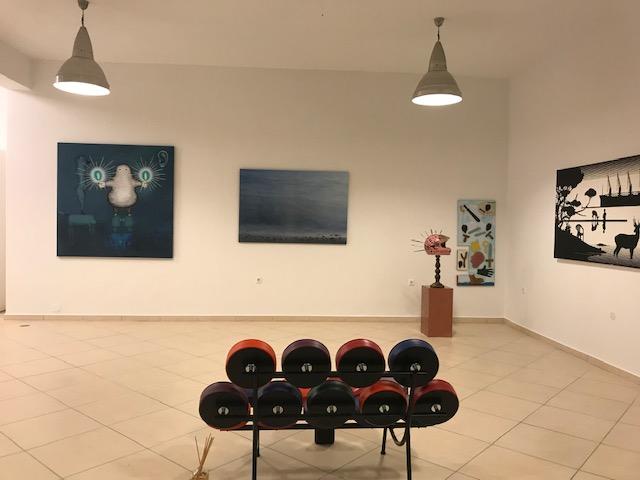 Art Gallery Athanassiadou Marpissa Paros
