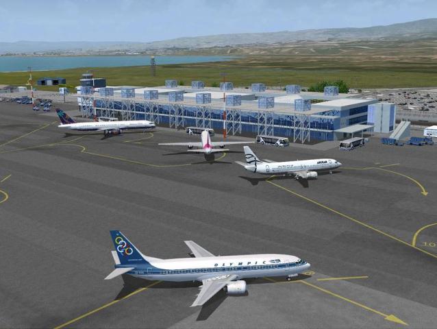 Paros Airport model