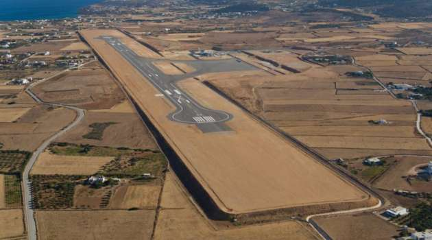 extension paros airport