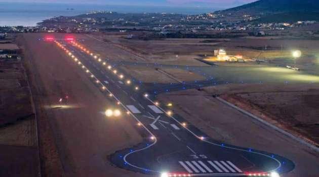 Paros airport extention