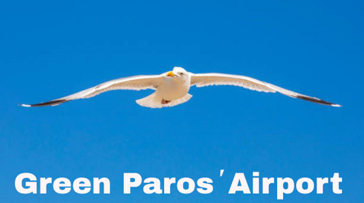 green paros' airport