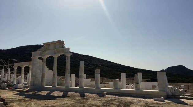 Despotiko temple of Apollo