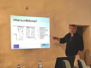 Workshop about energy cooperatives