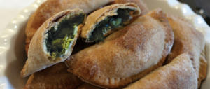 Tarte aux herbes sauvages