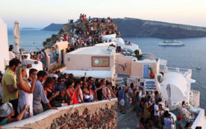 Overtourism in Oia Santorini