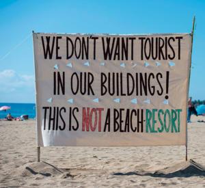 Overtourism in Barcelona
